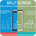 Infographic: Separating Corporate from Personal Data on Mobile Devices