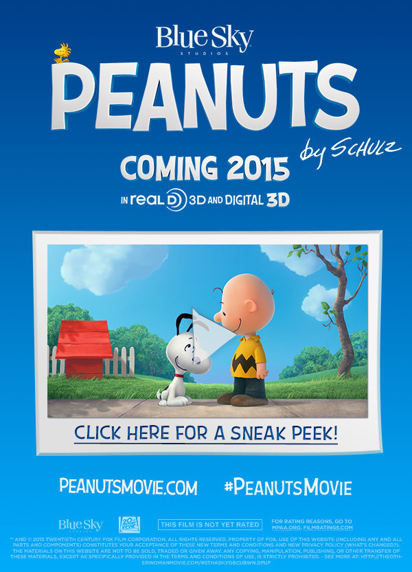 The Peanuts Movie Teaser Trailer Is Here!