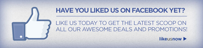 HAVE YOU LIKED US ON FACEBOOK YET? | like us now